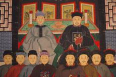 Ancestros chinos y pinturas asiáticas, tienda china