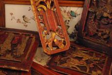 Madera vieja china antigüedad china